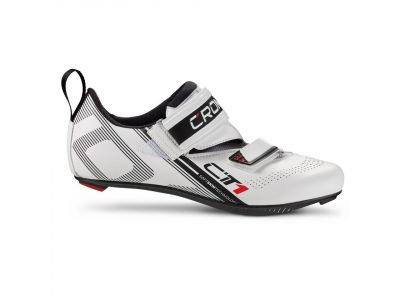 Triatlonové tretry CRONO CT1 WHITE CARBON