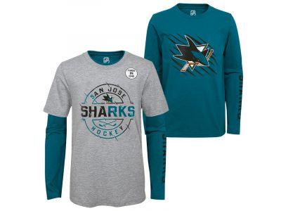 Detské tričko 3 v 1 OUTERSTUFF San Jose Sharks