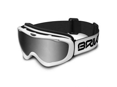 Lyžiarske okuliare BRIKO AMIATA W001-SZA2 MAT WHT M