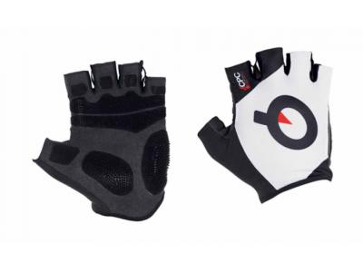 Cyklistické rukavice PROLOGO SHORT FINGERS - WH-BK