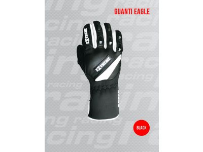 Lyžiarske rukavice EXTREME RACING EAGLE UNI BLK