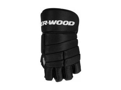 Hokejbalové rukavice Sher-Wood T10 BLK
