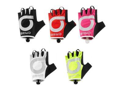 Cyklistické rukavice BRIKO H.VISIBILITY