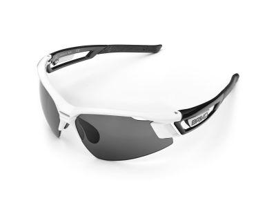 Cyklistické okuliare BRIKO URAGANO WHT-BLK SG4