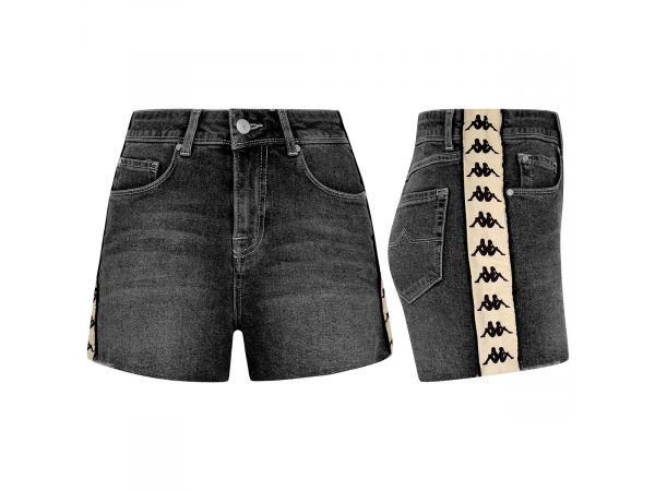 Džínsové šortky KAPPA 222 BANDA BRIZIDA 902
