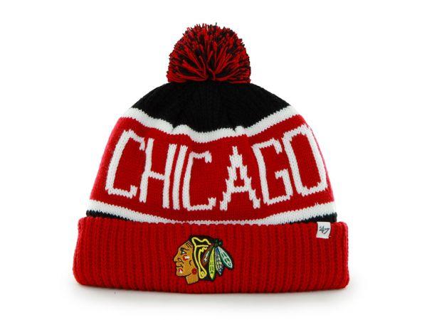Čiapka '47 CALGARY Chicago Blackhawks BKA
