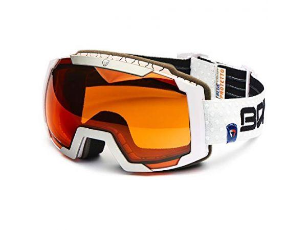 Lyžiarske okuliare BRIKO CALDERA W001-SZA WHT