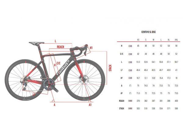 Cestný bicykel WILIER CENTO10 SL DISC ULT NDR38