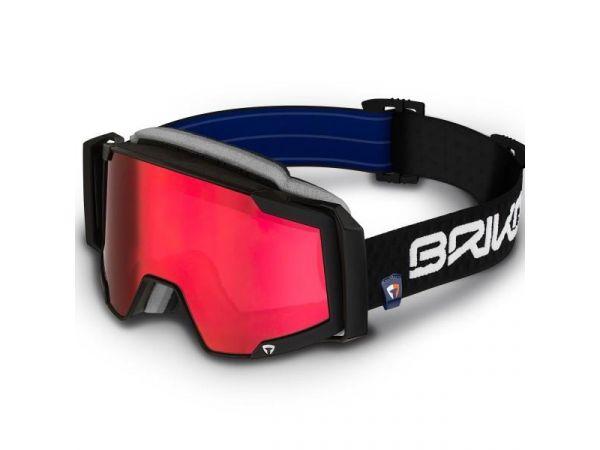 Lyžiarske okuliare BRIKO MAGMATICA 7.6 N001-NAS BLK