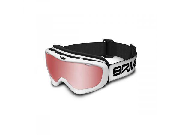 Lyžiarske okuliare BRIKO AMIATA W001-600 MAT WHT M