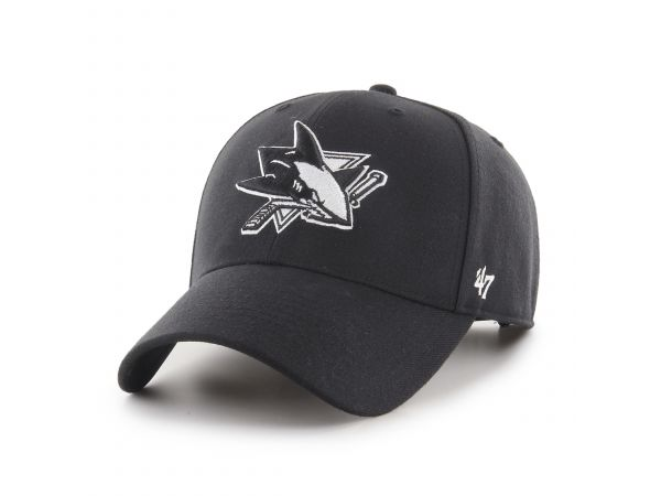 Šiltovka '47 MVP SNAPBACK San Jose Sharks B/W