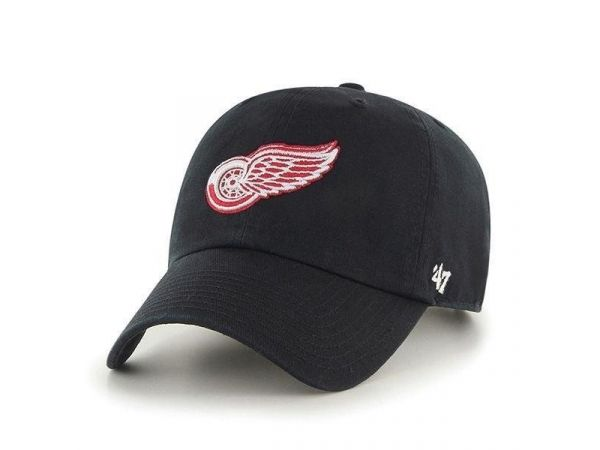 Šiltovka '47 CLEAN UP Detroit Red Wings BK