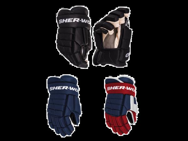 Hokejové rukavice Sher-Wood BPM090 Senior